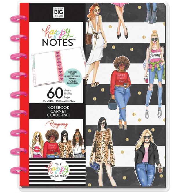 Happy Notes Pointillé - Slay all day