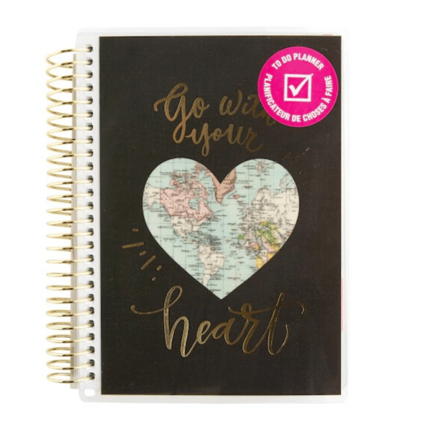 Petit planificateur - To Do - Go with your heart
