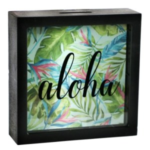 Tirelire décorative Aloha