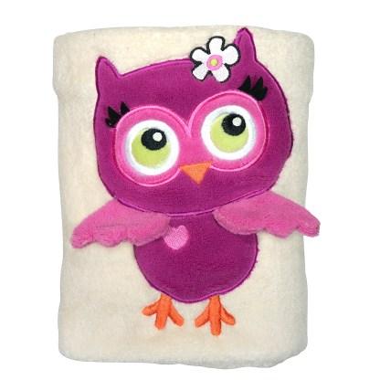 Owl Snuggle Blanket