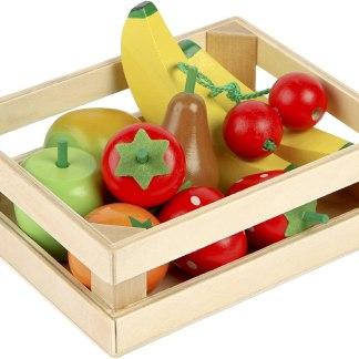Salade de fruits en bois