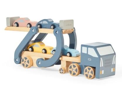 Camion avec plateforme amovible