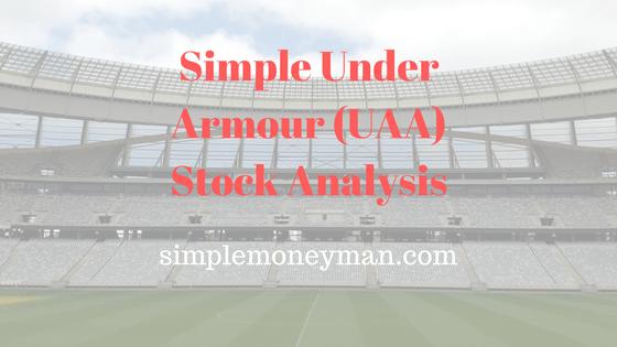 Simple Under Armour (UAA) Stock Analysis simple money man
