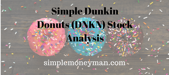 Simple Dunkin Donuts (DNKN) Stock Analysis simple money man