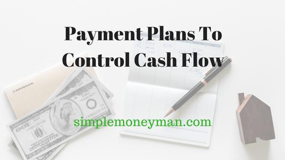 Payment Plans To Control Cash Flow simple money man