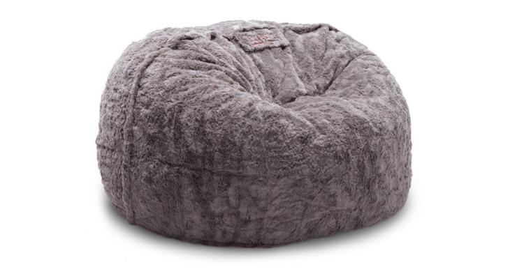 lovesac pillow is all you need to relax