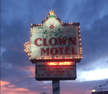 Clown Motel Named America' Scariest