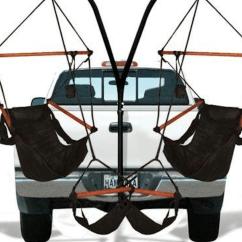 Trailer Hitch Chair Dimarzio Bass Wiring Diagram Allows You To Attach Hammocks Truck