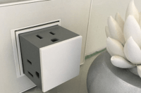 This Sleek Pop-Up Outlet Lets You Plug In Three Cords ...