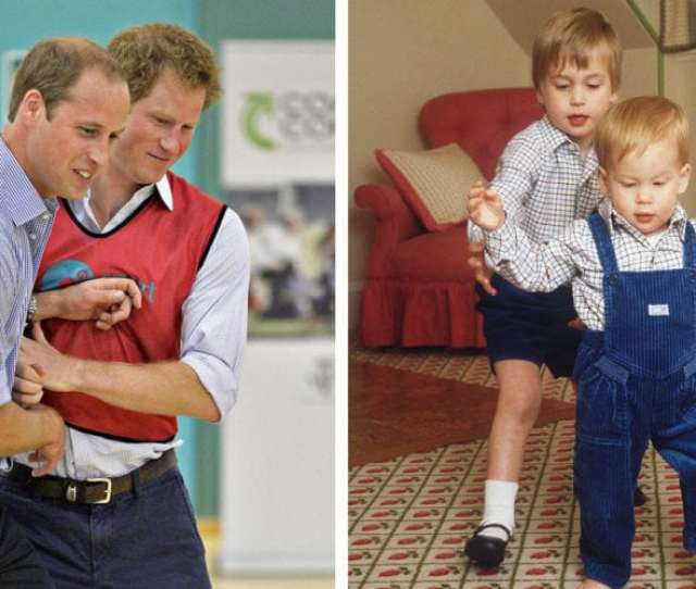 British Royals Prince William And Prince Harry