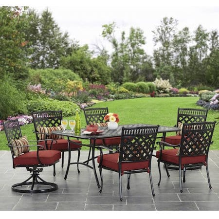walmart has patio furniture for 50 off