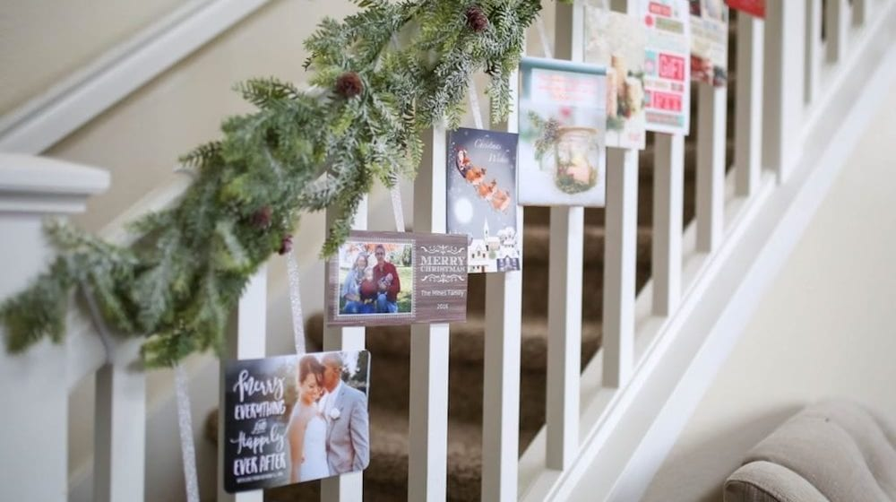 How To Decorate Your Stairs For Christmas Simplemost