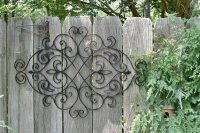 New Mexico Wrought Iron Wall Decor - Home Christmas Decoration
