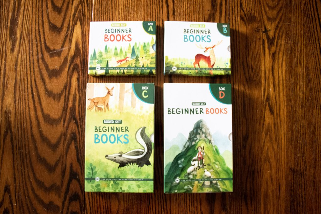 The Good and The Beautiful Beginner Books Box Sets
