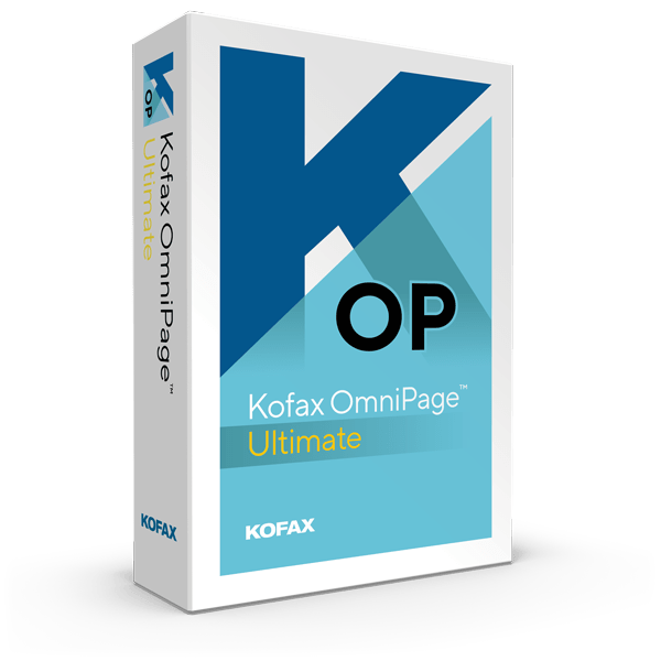 Kofax OmniPage Server OCR Software