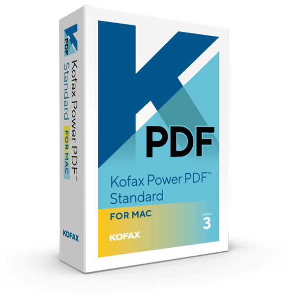 Kofax Power PDF Mac