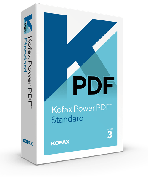 Kofax Power PDF Standard