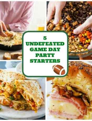 Game Day Snacks Food Football party