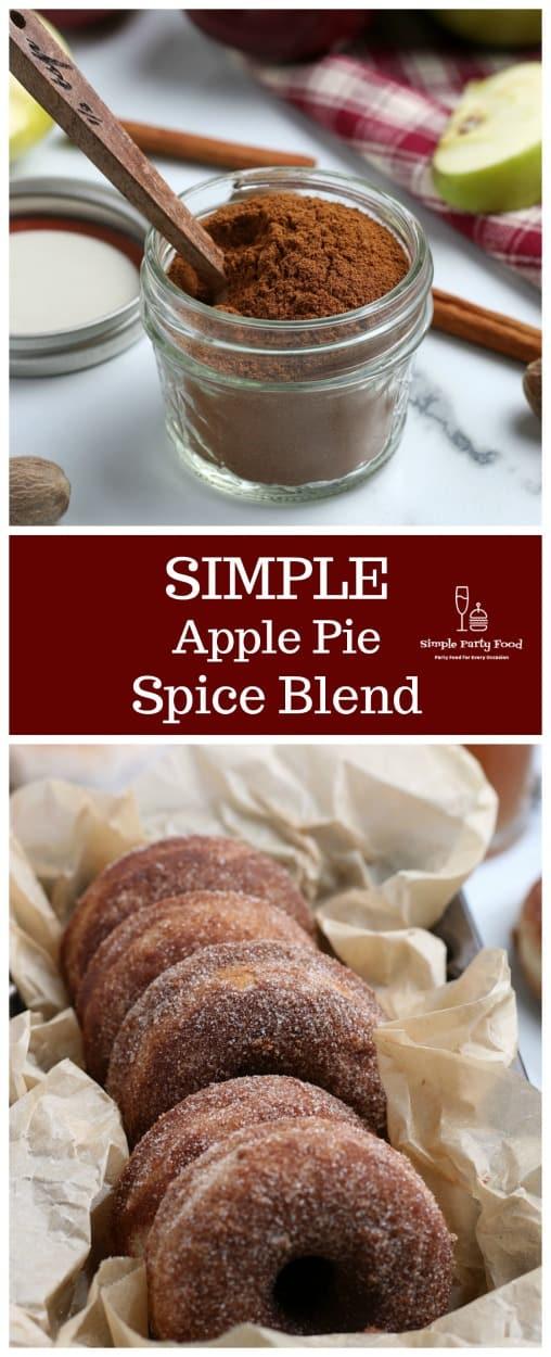 SIMPLE Apple Pie spice blend #simplepartyfood