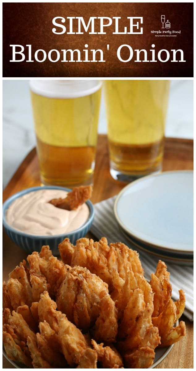 SIMPLE Bloomin' Onion - #outback #bloominonion