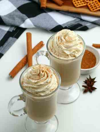 SIMPLE Pumpkin Latte