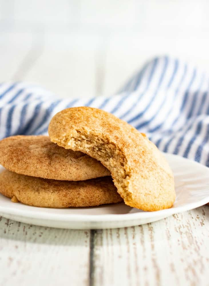 How to make a SIMPLE chewy and tender Snickerdoodle cookie