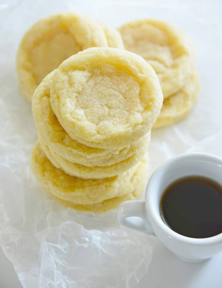 SIMPLE Chewy Egg Nog Cookies