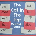Word Family Games – The Cat in the Hat Activity