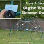 Sight Word Rescue Game