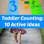 Toddler Counting: 10 Active Ideas