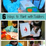 6 Ways to Paint With Toddlers