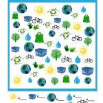 Earth Day I Spy Game to Print & Play