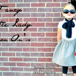 $5 Friday: Fancy Little Lady Skirts with DIY Iron On Patches