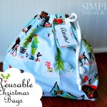 A Handmade Christmas: Reusable Christmas Bags