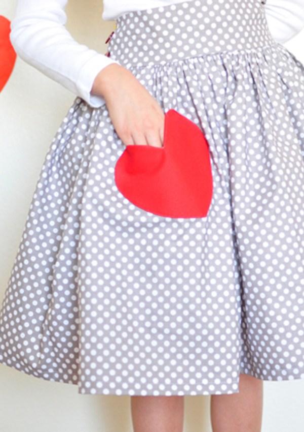 A Valentine Skirt.
