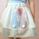 The Love Bunny Girls Skirt Tutorial