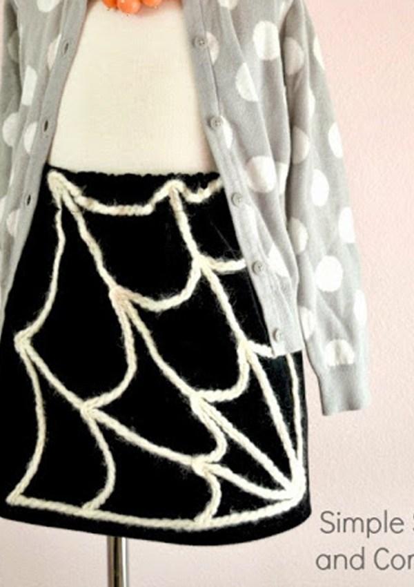Simple Spider Web Skirt Tutorial