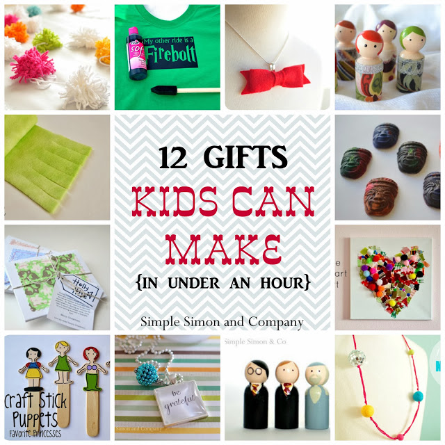 12 Gifts Kids Can Make.....