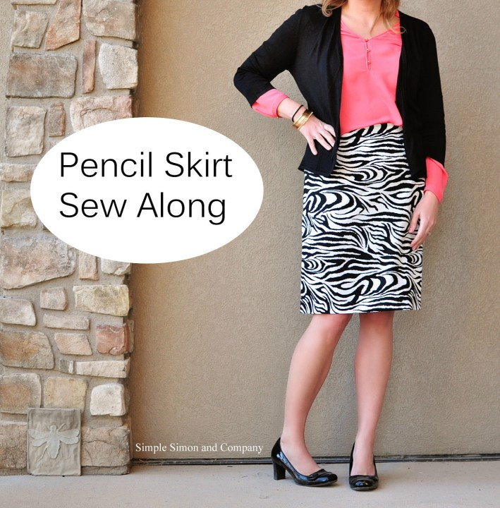 pencil skirt sew along