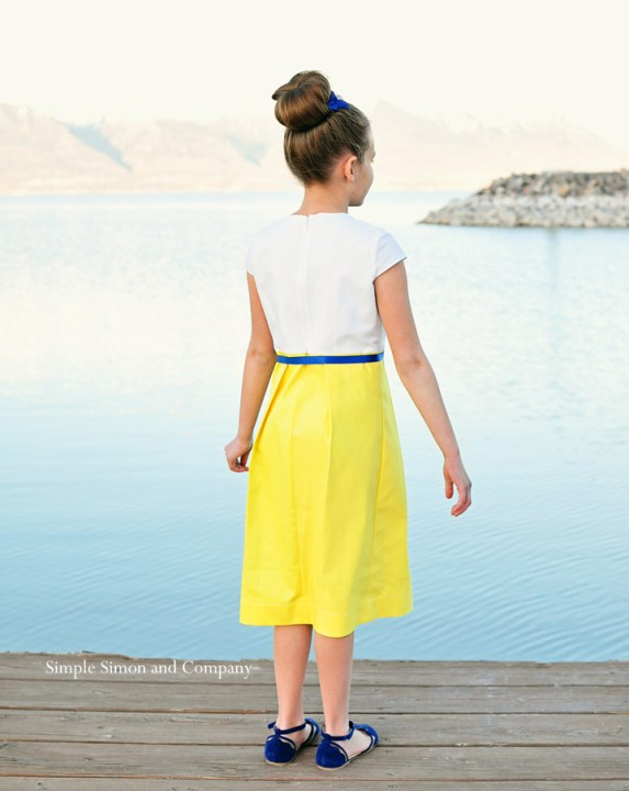 starboard dress---dress back