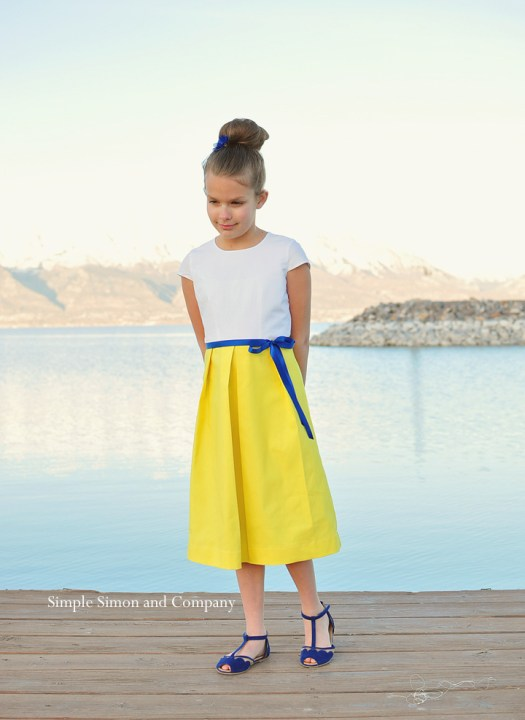 starboard dress--front of dress