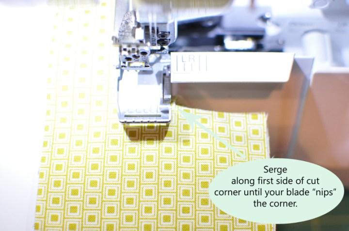 step 1 cutting corners