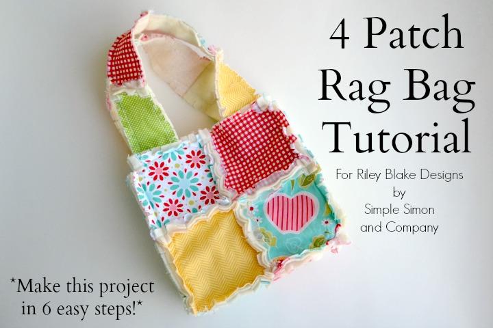 4 Patch Rag Bag Tutorial
