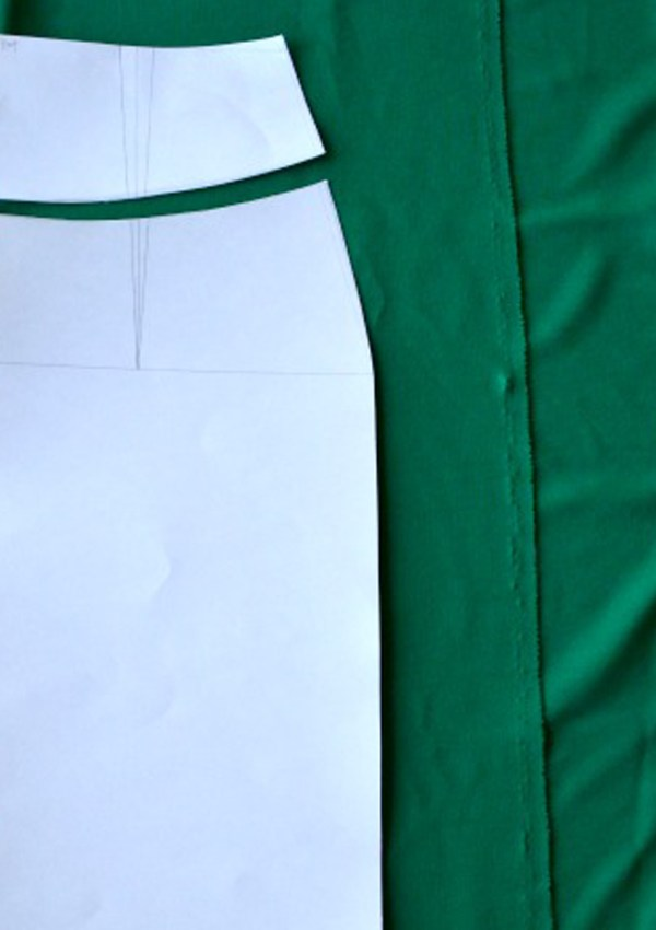 How to sew a KNIT pencil skirt…or at least how I do it…