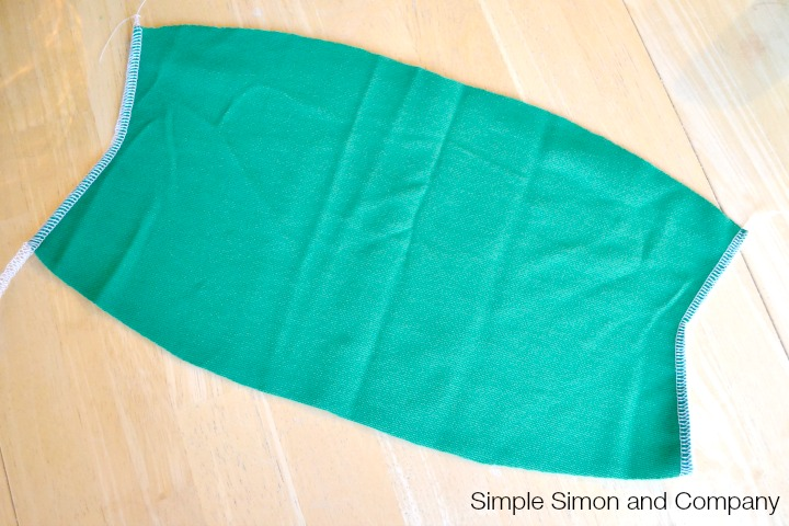 Knit Pencil Skirt Tutorial Step 5