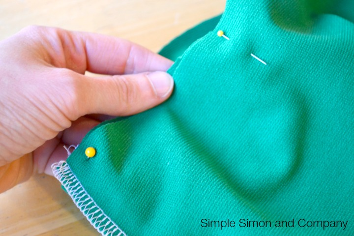 Knit Pencil Skirt Tutorial Step 8