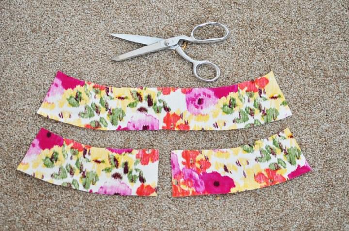 facings for skirt