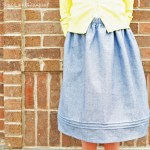 An announcement and a pintucked skirt…