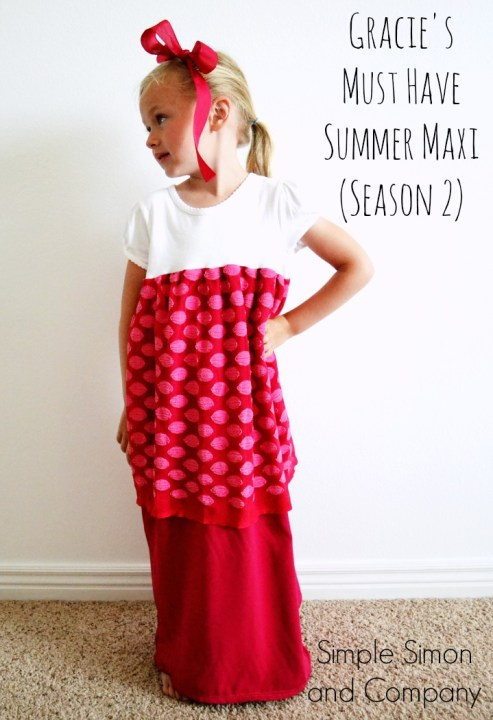 Gracie's Must Have Summer Maxi Part Two Title