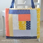 Quilt-as-you-go Tote Bag